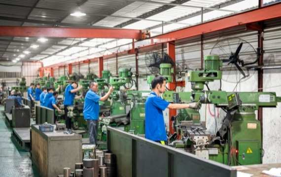 die casting manufacturing factory